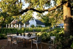 Rhodes Cottage at Boschendal Wine Farm. Have you ever visited South Africa's famed wine region?
