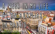 Want to know more about working as an auxiliar de conversacion in Madrid? Check it out!
