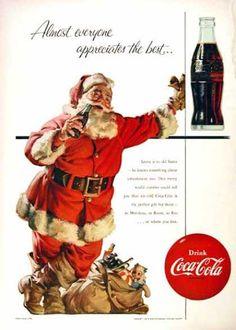 Coca Cola Santa (1955)