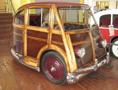 One-off Martin Stationette You can't fault James Martin for trying. Over the course of four decades, he made no fewer than four attempts to build cars and market his automobile inventions, each successively more unconventional and, ultimately, unsuccessful. The last of those, the three-wheeler woodie known as the Martin Stationette,