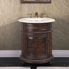 http://www.overstock.com/Home-Garden/Natural-Stone-Top-24-inch-Single-Sink-Vintage-Style-Round-Bathroom-Vanity-in-a-Dark-Walnut-Finish/8760745/product.html?refccid=UCUQXYOS2PPZVX2FXHT2EMK4FA