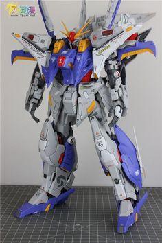 Gundam Family: MAS-15 ∑-ZERSTÖRER 1/100 RX-105 Ξ Gundam Painted Build