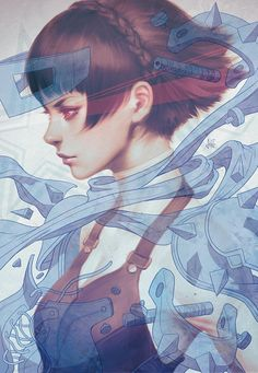 Makoto Persona 5 by Artgerm