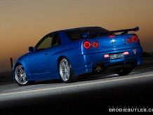 Qest Japan LED rear lights and rear fog/reversing lights. R34 Gtr, Skyline Gtr R35, Nissan Skyline, Japan, Led, Lights, Cars, Cutaway, Japanese Dishes