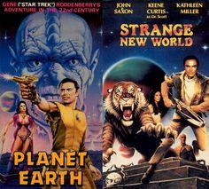 gene roddenberry futurist | space1970: Vintage VHS Art: The Future Belongs To John Saxon!