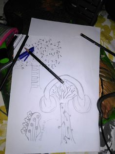 Musically Recreated trees by me; ofcourse! Cause im d best!