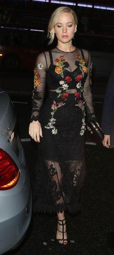 "Looks da Jennifer Lawrence na Press Tour de ""A Esperança"""