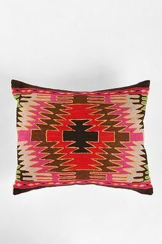 Magical Thinking Diamond Kilim Pillow