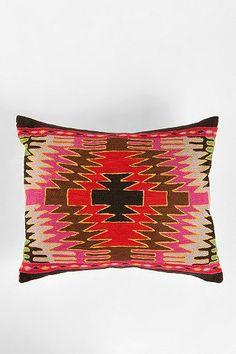 Magical Thinking Diamond Kilim Pillow
