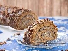 Swiss-Roll Cake with Apple and Poppy filling from Something Sweet: Winnie's Blog