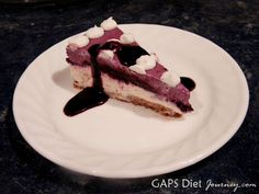 Recipe: Blueberry Cheesecake Dairy Free and GAPS Legal