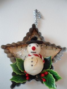 vintage inspired Christmas ornament