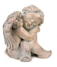 Pack of 2 Antique Brown Finish Sleeping Cherub Angel Garden Patio Figures 8 -- Learn more by visiting the image link. (This is an affiliate link) Angel Garden Statues, Garden Angels, Garden Accessories, Decorative Accessories, Turtle Figurines, Outdoor Statues, Garden Decor Items, Kids Sleep