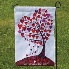 Delicieux Valentine Garden Flag