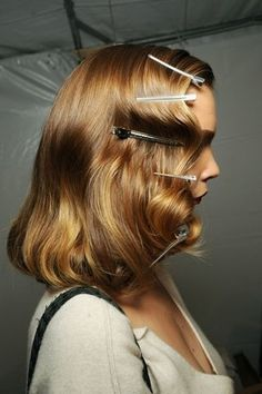 How-To: Marcel Waves - Retro Hair and Makeup Ideas That Will Transport You to Another Era - Photos