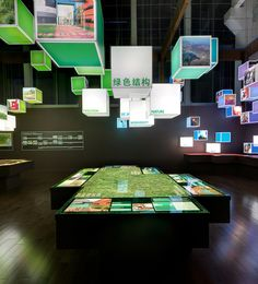 exhibition showcases Montreal's innovative and sustainable urban project, the Complexe Environnemental Saint-Michel