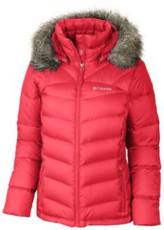 Columbia Women's Glam-Her Down Jacket A very stylish plus sized puffy coat for winter sports! 1X - 3X $170