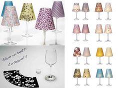 luminária de taça, como fazer, diy, ideias criativas, decoração