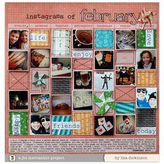 instagrams of february[JBS Mercantile Kits] - Scrapbook.com