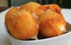 Sfiziose ciliegine di mozzarella fritta...Palline di mozzarella