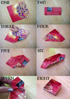 Origami Box Pointless Pretty Things: DIY