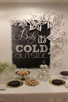 Winter Onederland Birthday Party decor for a sweet little girl or boy.