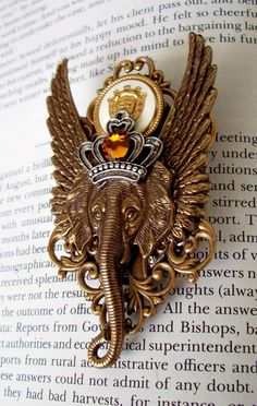 Steampunk Pin M44 Brooch Royal Order of by DesignsByFriston, Etsy