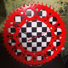 Dirt bike sprocket clocks Friend of mine owns BM products, check her out!