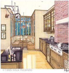 Kitchen Rendering - inspiration photo http://mickricereto.files.wordpress.com/2013/08/crafts-photo.jpg