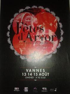 LES FÊTES D'ARVOR À VANNES  Durant tout le weekend de du 15 aout, Vannes sera à la fête. Venez découvrir la culture bretonne pendant 3 jours à Vannes ! Customes bretons, musique bretonne et défilé sont au programme.  #bretagne #bzh #vannes #culturebretonne