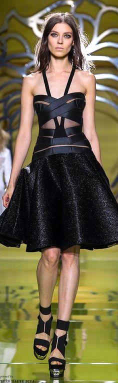 Miami South Beach :: In The Fashion| Serafini Amelia| Versace-Milan FW Versace Spring 2014 RTW