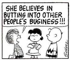 Lucy Linus & Charlie Brown