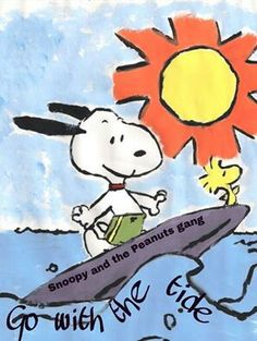Snoopy - California surfing !!!