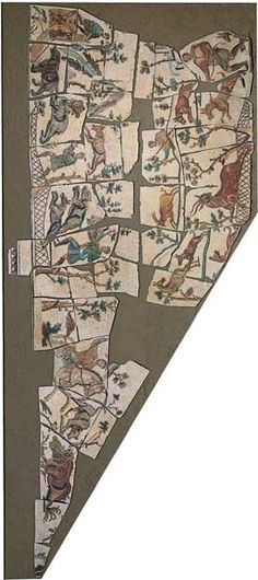 Mosaic with hunting scene / Animals / cm 1500 x 900 - Centrale Montemartini