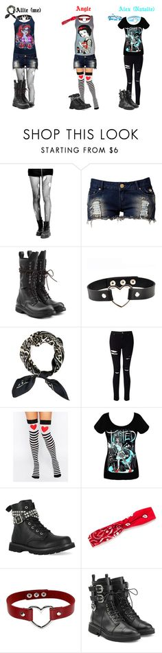 """""""My Outfit For Today~ (PART ONE)"""" by alice-the-skatergirl ❤ liked on Polyvore featuring Disney, Club L, Rick Owens, Troo, Miss Selfridge, Leg Avenue, Gotta Flurt, Red Camel, Giuseppe Zanotti and PunkDisneySquadd"""