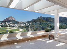 Terraço debruçado sobre cartões-postais - Casa e Jardim | Arquitetura