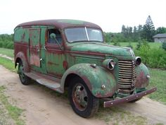 1940 Chevy 1 Ton Panel Truck ★。☆。JpM ENTERTAINMENT ☆。★。Needs some TLC, but this old truck could look like new again.
