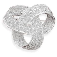 Love Knot Pin Brooch Swarovski Crystal Plated with Fine Silverby Wildfire Fashion - See more at: http://blackdiamondgemstone.com/jewelry/brooches-pins/love-knot-pin-brooch-swarovski-crystal-plated-with-fine-silver-com/#sthash.LYO0URAv.dpuf