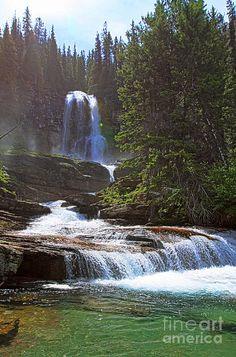 ✮ Virginia Falls - Glacier National Park, Montana