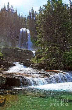 Virginia Falls - Glacier National Park, Montana
