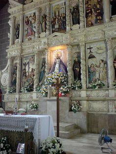 Silang Catholic Church Altar by johncatral, via Flickr