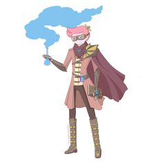 Steampunk Adventure Time! - Prince Bubblegum