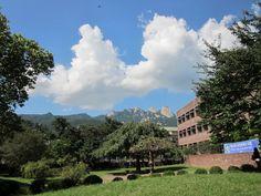 Sky in Duksung woman's University / In south Korea
