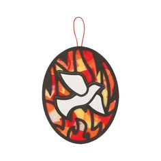 Celebrate the Holy Spirit this Pentecost with a gorgeous religious craft for kids. Children will create a lovely hanging that has the beauty of stained glass. Bible School Crafts, Bible Crafts For Kids, Preschool Bible, Sunday School Projects, School Ideas, Stained Glass Cookies, Tissue Paper Crafts, Paper Crafting, Patriotic Pictures