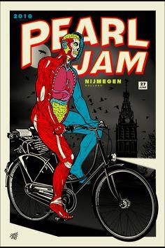 Pearl Jam poster.