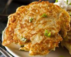 Boxty irlandais (pancakes de pomme de terre) : http://www.fourchette-et-bikini.fr/recettes/recettes-minceur/boxty-irlandais-pancakes-de-pomme-de-terre.html