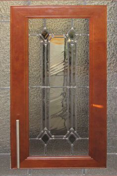 stained glass cabinet door pattern use opaque glass