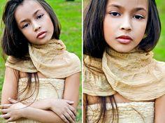 ALALOSHA: VOGUE ENFANTS: Child Model of the Day: Dayana