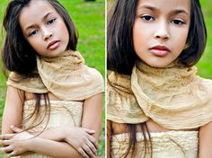 ALALOSHA: VOGUE ENFANTS: Child Model of the Day: Dayana