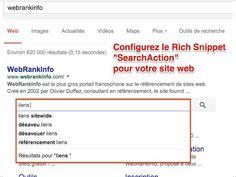 Comment profiter du champ de recherche au-dessus des sitelinks - YouTube